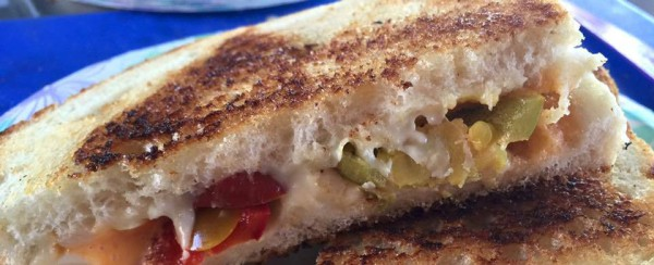 FIRE AND SPICE GRILLED CHEESE